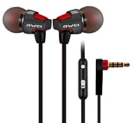 Awei ES-860hi Metal Music Earphone with Hifi Sound Quality and Universal Microphone Controller