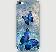 Two Butterfly Pattern Case Back Cover for Phone4/4S Case