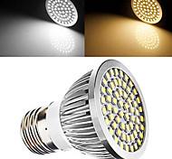 Spot LED Décorative Blanc Chaud / Blanc Naturel DAIWL 1 pièce E26/E27 7W 60 SMD 2835 700 LM AC 100-240 / AC 110-130 V