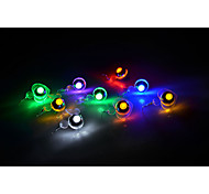 Fashion Circle LED Earrings (Yellow, Blue, Green, Red)