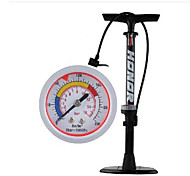 A Bicycle With A Barometer Inflator