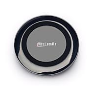 Cargador inalámbrico minismile ™ de calidad superior más nuevo estándar Qi para la galaxia s6 / s6 borde / iphone 6 / celular