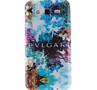 Abstract Painting Pattern Ultra Thin TPU Soft Back Cover Case for Samsung Galaxy Grand 2 G7106