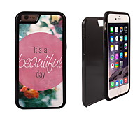 It's A Beautiful Day Design 2 in 1 Hybrid Armor Full-Body Dual Layer Shock-Protector Slim Case for iPhone 6