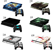 Survival/Action & Adventure Stories/Games Designer Vinyl Skin for Gaming Console & Free Controller Sticker Decal for PS4