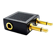 3,5 millimetri audio splitter 1 femmina a 2 convertitore dell'adattatore maschio jack da 3,5 mm splitter