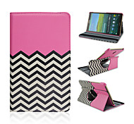 8.4 Inch 360 Degree Rotatin Wove Pattern High Quality PU Leathe Case for Samsung Tab S 8.4 T700