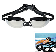 Anti-Fog / Waterproof Polycarbonate Lens Swimming Glasses