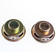 altoparlanti di qualità 3w 4r amplificatore dedicato mini altoparlante tromba (2 pezzi)