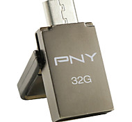 PNY OTG Duo-LINK OU5 32GB USB Flash Drive , Gray