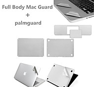 Top Quality Sliver Ultra Slim Full Body Guard and Palmguard with Package for Macbook Retina 13.3 inch