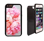 blossomy rosa disegno 2 in 1 ibrido armatura caso sottile di tutto il corpo a doppio strato di shock-protezione per il iphone 6 più