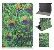 10.1 Inch Grass Pattern PU Leather Stand Case for Asus MeMO Pad 10-ME103K