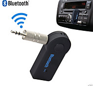 wireless bluetooth 3.5mm audio stereo autoradio adattatore domestico w / mic