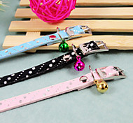 PU Small Dogs Cat Collars For Cats