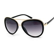 Sunglasses Women's Classic Hiking White / Yellow / Brown / Pink / Green / Leopard / Bright Black Sunglasses Full-Rim