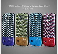 Spot Design Color Cell Phone Case Cover for Samsung Galaxy S4 Mini
