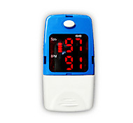 Adult Fingertip Pulse Oximeter with Carry Case and Neck/Wrist Cord