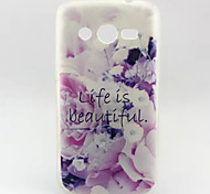 Life.Pattern TPU Soft Cover for Samsung Galaxy Core 4G G386F/G3518