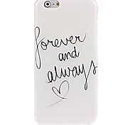 Forever And Pattern Case for iPhone 6