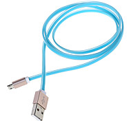 Colour High-end Alloy Head Perfume USB Data Cable for Samsung (Length:108cm) (Assorted Colors)