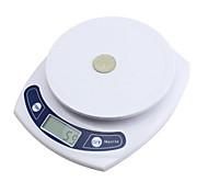 balanza electrónica, la escala electrónica de la cocina, de alta precisión, hornear para mantener el equilibrio, 3 kg / 0.1g