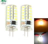 Lampes à Deux broches Décorative Blanc Chaud/Blanc Froid Zweihnder 2 pièces C G4 4 W 40 SMD 2835 380 LM AC 100-240 V