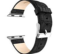 Hoco 42mm Smartwatch All Genuine Leather Unisex Watch Bands Stainless Steel Buckle