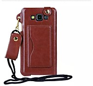 Special Design Fashion High-Grade Solid Color PU Leather Holster for Samsung Galaxy A5 (Assorted Colors)