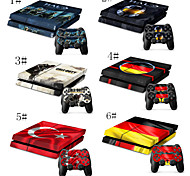 Call of Duty Decal Skin Protective Sticker for PS4 Console & Free for Two Controllers