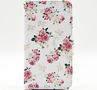 Floral Pattern The Inside Painted Cards Case for Samsung Galaxy Note 3