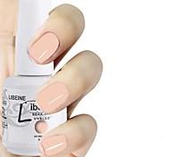 LIBEINE 1pc Soak Off 15 ML UV Gel Nail Polish Color Gel Polish 089# Light Pink