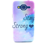 Stay Strong Pattern PC Hard Case forSamsung Galaxy Core Prime G360 G360H G3606 G3608 Back Cover