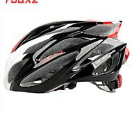 EPS FJQXZ integralmente-stampati + PC Rosso e Bianco ciclismo Caschi (21 Vents)