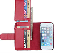 Specially Designed PU Leather Wallet Case Full Body Case for iPhone 5/5S