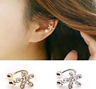 HUALUO®Lovely Diamond Flower Earrings