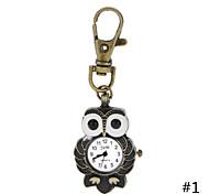 annata antico grandi orologi da tasca occhio ciondolo gufo classico per le donne degli uomini di vendita caldi nuovi doni Correntes