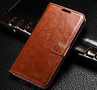 High-grade Envelope Genuine Leather wallet case for Samsung Galaxy J5(Assorted Colors)