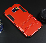 Hard Case Protective Cover with Kickstand for Samsung Galaxy S6 edge