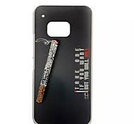 Zigaretten spezielle Design Abdeckung zurück umkleiden für HTC Kunststoff m9