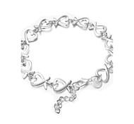 Свадьба / Для вечеринок / Повседневные - Strand Браслеты ( Серебрянное покрытие )