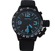 u-boa moda casual relógio cinto xinzhe7150 dos homens da marca