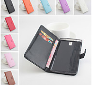 Flip Leather Magnetic Protective Case For OnePlus One(Assorted Colors)