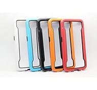 Zweifarben-weiche TPU Bumper für Samsung-Galaxie s6 (verschiedene Farben)
