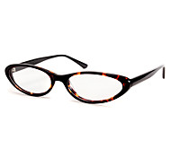 [Free Lenses] Women's Acetate Cat-Eye Full-Rim Retro Prescription Eyeglasses