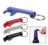 Aluminum Beer Bottle Opener Keychain
