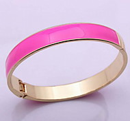 Fashion Women Alloy/Gold Plated Bracelet Ring Bracelets Daily/Casual Multicolor