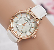 Women's Watches Simple Casual Watch Round Diamond Ladies Bracelet Watch