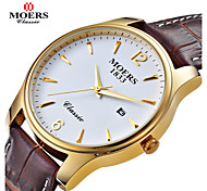 MOERS® Men's Round Dial Casual Watch Alloy Strap Japanese Quartz Watch Wrist Watch (Assorted Colors) Cool Watch Unique Watch