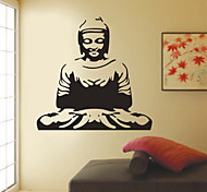 Vintage Joss Meditation PVC Wall Sticker Wall Decals